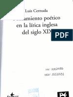 Luis_Cernuda-Pensamiento poético en la lírica inglesa