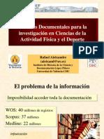Técnicas documentales en AFD-UFRGS-PPP