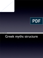 Wednesday, 18 March 2009 Greek Myths Structure Wednesday, 18