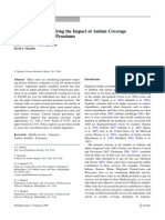 Quantifying the Impact of Autism Coverage