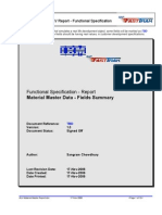 ALV-Material Master Report
