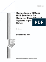 Comparison of IEC and IEEE Standars