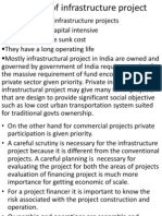 Financing Infrastructure Project