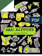 Aha Activities