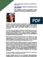 INTERPONEN DENUNCIA CIUDADANA CONTRA MILLONARIO VOCAL CORRUPTO
