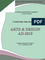 Arts and Design Cu Coperta 1