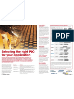 Selecting Right Plcs for You Application
