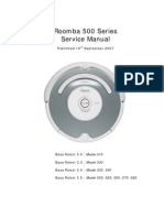 IROBOT  Roomba 500 Series Service Manual  test repair