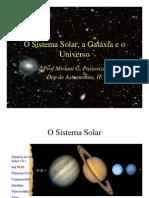 Sistema Solar a Galaxia