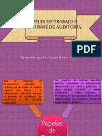 Tema 8 Papeles de Trabajo e Informe de Auditoria