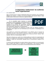 Lectura 4 - Introduccion Al Diagnostico Institucional