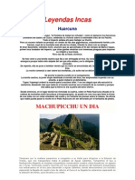 Leyendas Incas