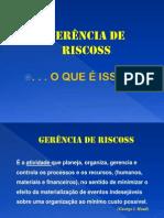 Gerencia de Riscos - UAM 1