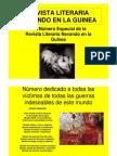 -1er Especial de La Revista Literaria-Nevando en La Guinea-.