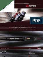 Akrapovic Catalogo Moto 2012