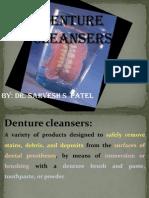 denture cleansear