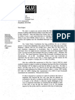 ACLU Letter to Mansfield Municipal Court