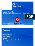 Top 10 Ways to Speed Up Patching
