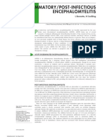 Encefalomielitis Inflam Postinfecc