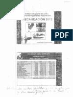 Exposición de la Gerencia Regional de Recaudación 2012