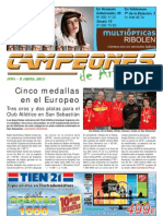 CAMPEONES de Aranjuez nº54 05-abr-13