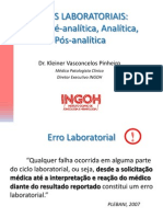 2307Aula de Erros Laboratoriais Dr.kleiner INGOH