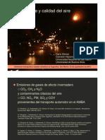 Dario Gomez-Transporte y Calidad Del Aire Transporte y Calidad Del Aire