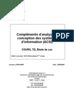 1. Uml Cours + Travaux Diriges