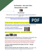 The Obama Deception Guide - Alex Jones Video