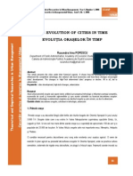 Evolutia Oraselor in Timp