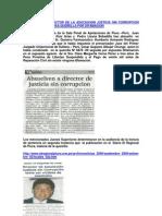 Absuelven a Director de La Asociacion Anticorrupcion de Enesima Querella