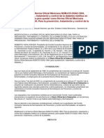 ODIFICACION a La Norma Oficial Mexicana NOMDM2