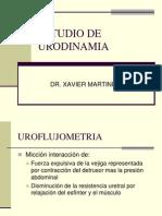 Estudio de Urodinamia