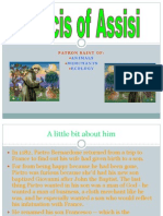 Francis of Assisi Powerpoint