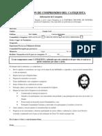 DECLARACIÓN DE COMPROMISO DEL CATEQUISTA