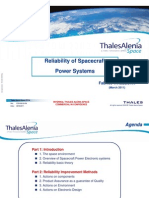 Reliability of Spacecraft Power Systems