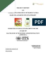 Marketing Strategy of Dabur Vatika Hair Oil & Dabur Chyawanprash