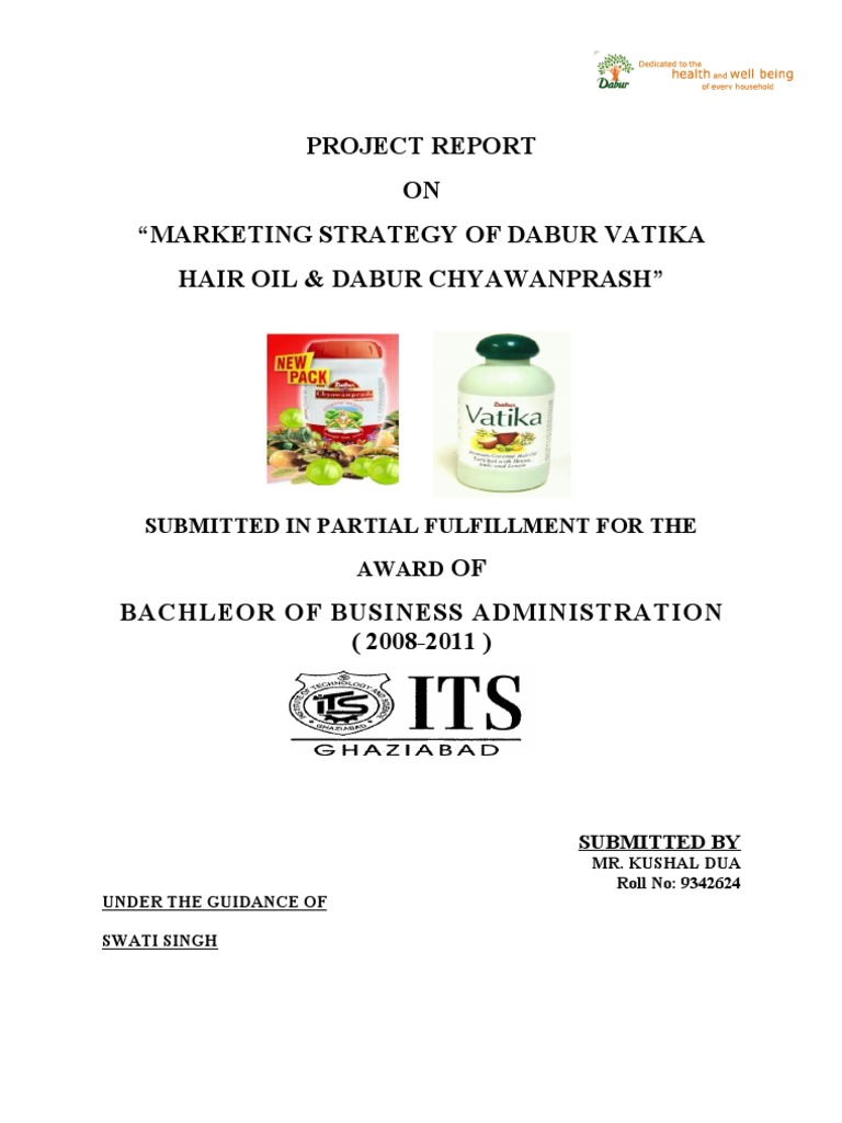 Marketing Strategy Of Dabur Vatika Hair Oil Dabur Chyawanprash