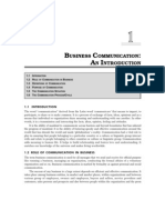 Importance of Business Communication