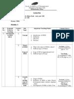 Lesson Plan - HRM
