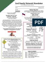 Medford Family Network Spring 2013 News