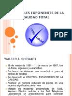 Principales Exponentes de La Calidad Total
