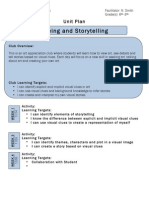 After School Program - Seeing and Storytelling Lesson Plan (Dragged)