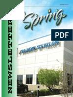 2013 Diamond Envelope Spring Newsletter