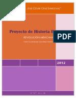 Proyecto de Historia Ll Revolucion Mexicana