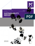 Multi Mall Management Portugal Sustainability Report 2010