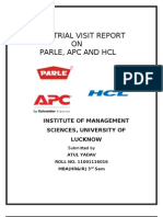 atul industrial visit report.doc