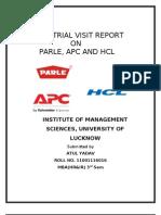 atul industrial visit report.doc