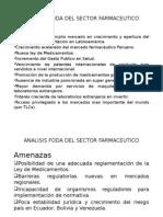 ANALISIS FODA DEL SECTOR FARMACEUTICO.pptx