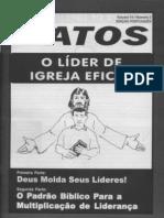 o lider de igreja eficaz - revista atos